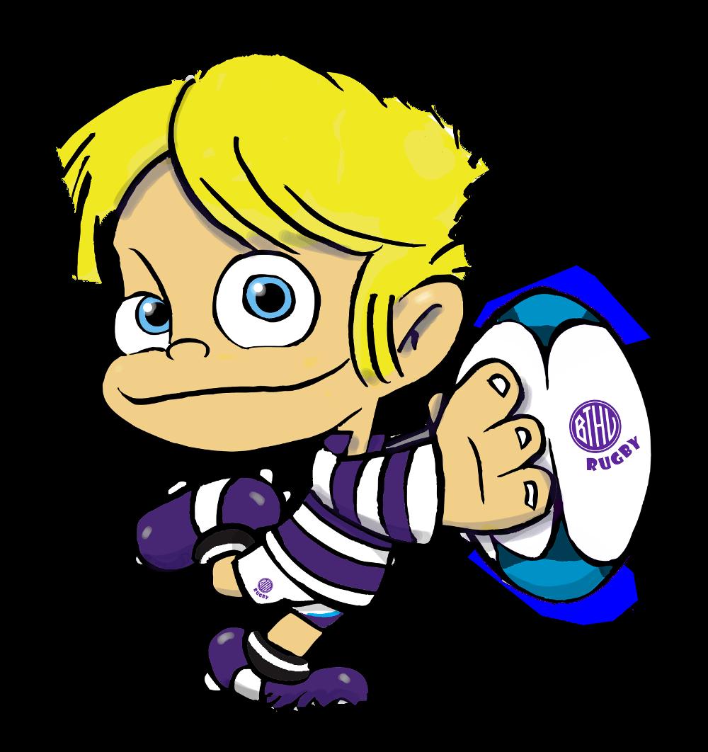 junger Rugbyspieler (Cosenza)